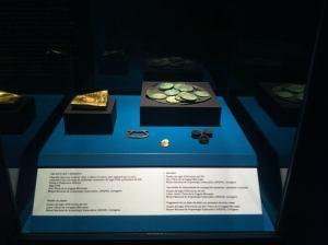 Restos del tesoro de la fragata Nuestra Señora de las Mercedes
